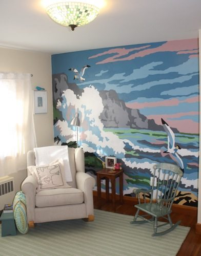 how to make projector for solid picture for mural