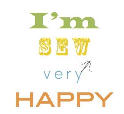 I'm sew very happy printable
