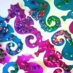 kid c.r.a.f.t. #17: Popcorn Seahorses