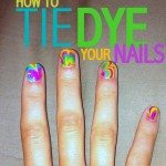 C.R.A.F.T. # 82: Tie Dye Nails {nail design} {marble nails}