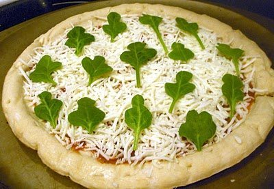 St. Patrick's Day pizza idea