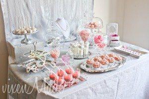 diy party food table idea
