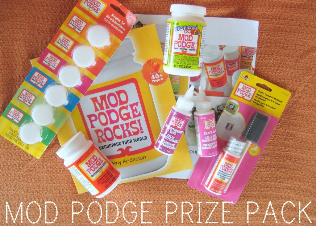 mod podge rocks review and giveaway