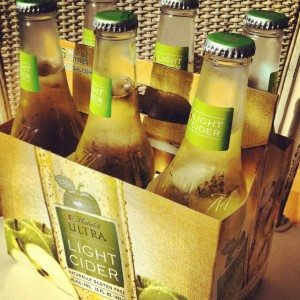 Michelob ultra cider beer