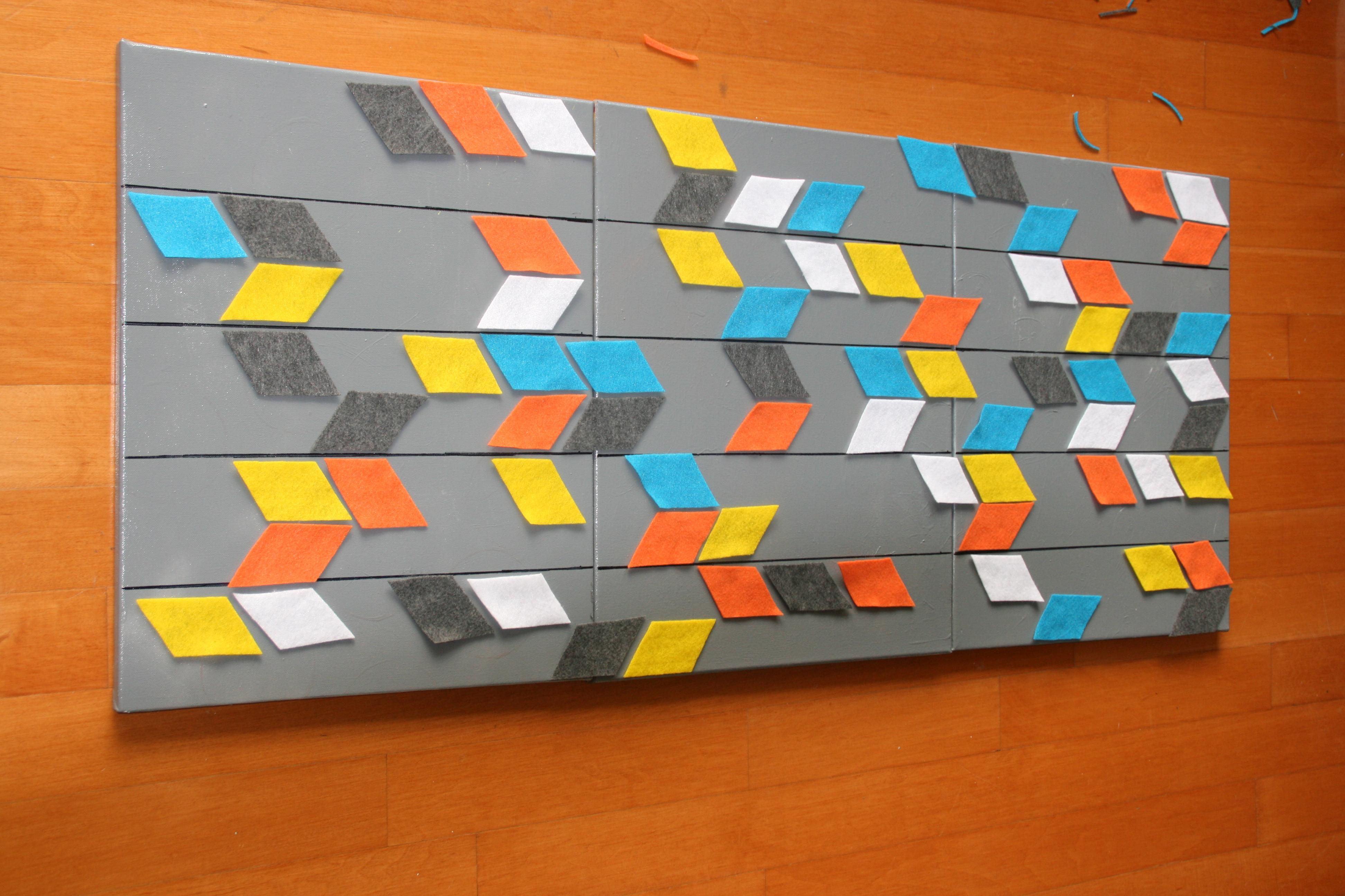 DIY wall art - C.R.A.F.T.