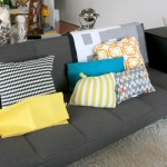 How to sew a pillow (room makeover)