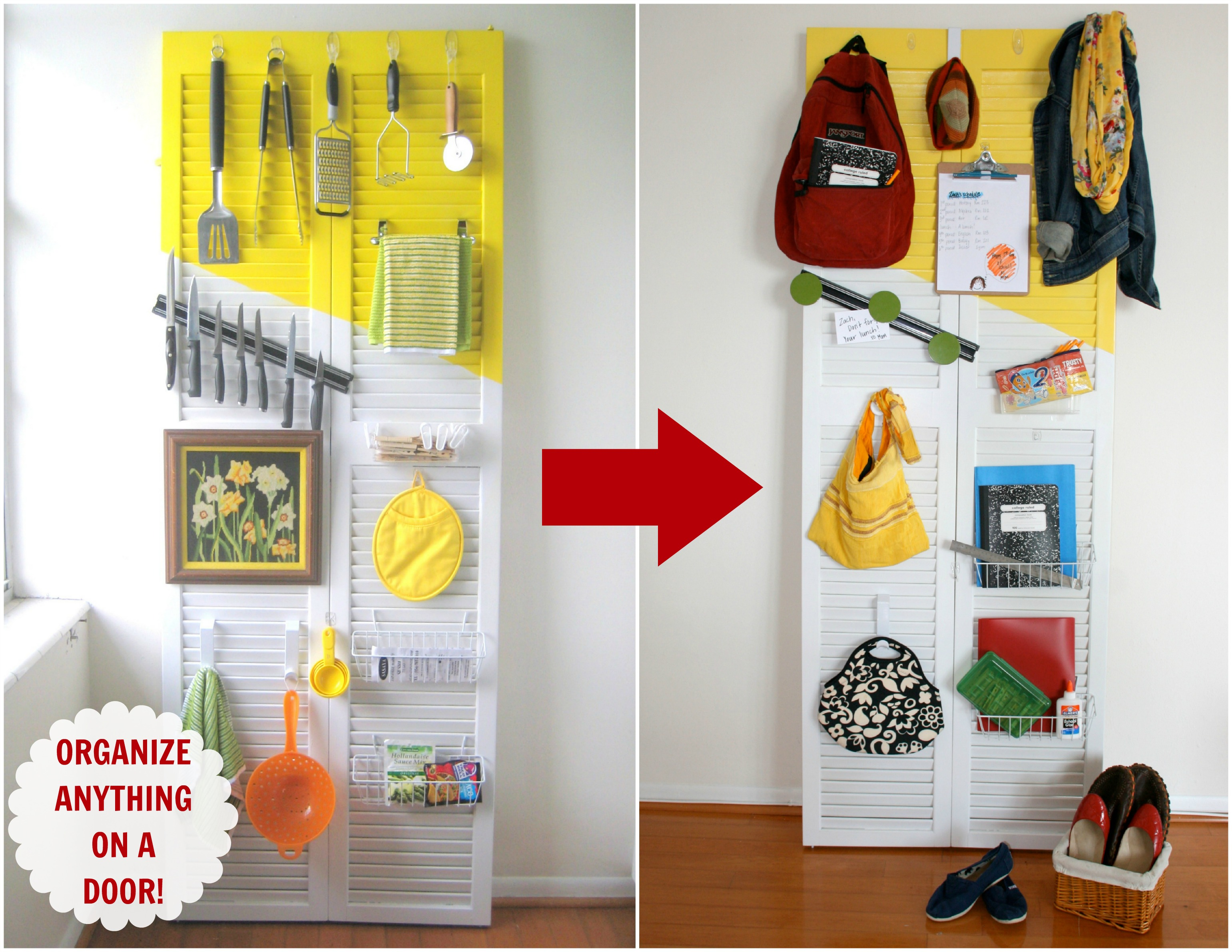 How to be organized {for back to school} - C.R.A.F.T.