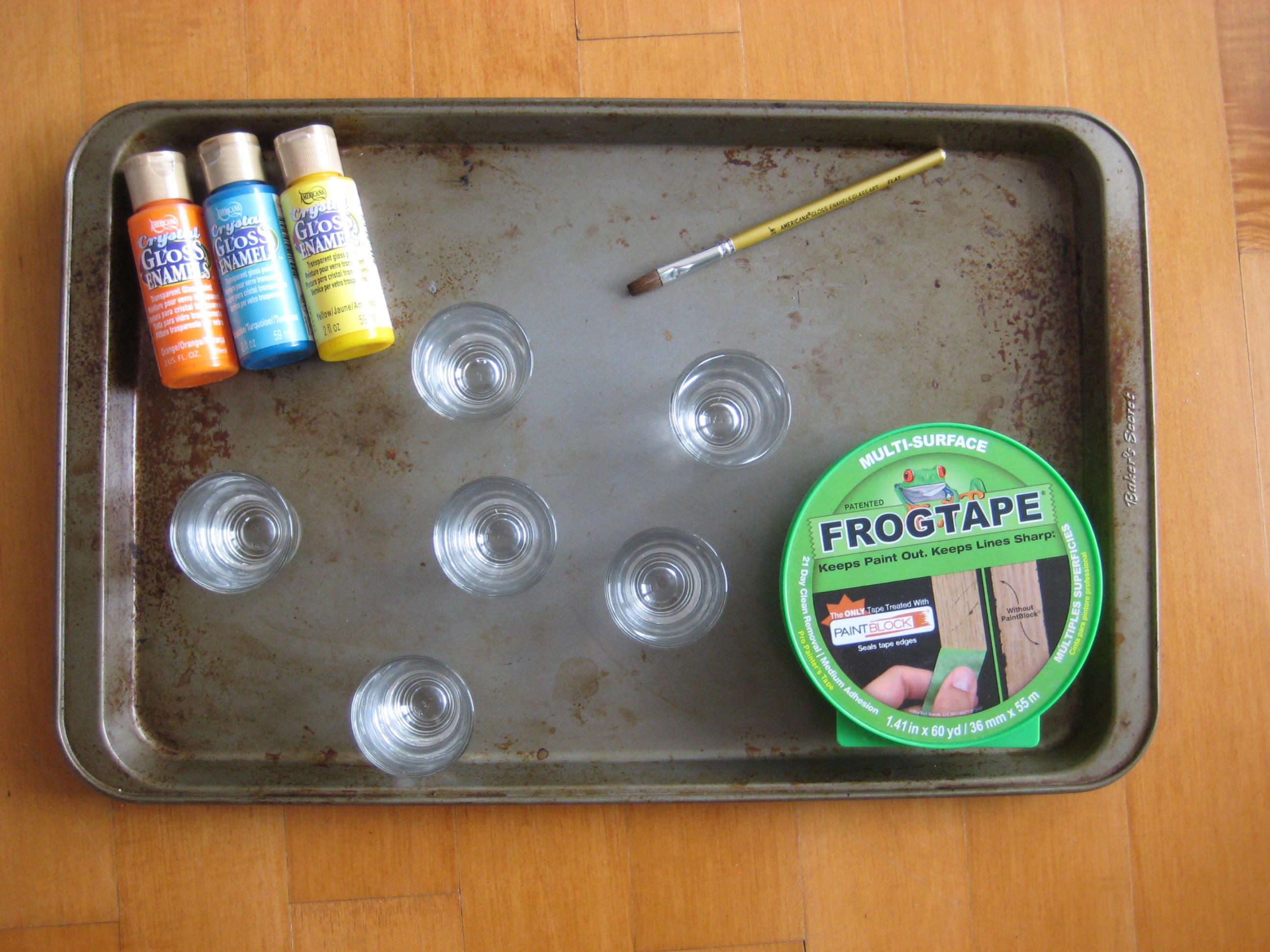 shot decor colour glass acatalog of ce decorative box glasses plastic mixed reusable