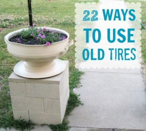 Tire crafts c r a f t for What to do with old tires