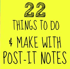 22 Post It Crafts C R A F T