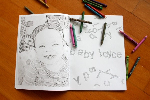 Personalized Coloring Books coloring pictures CRAFT
