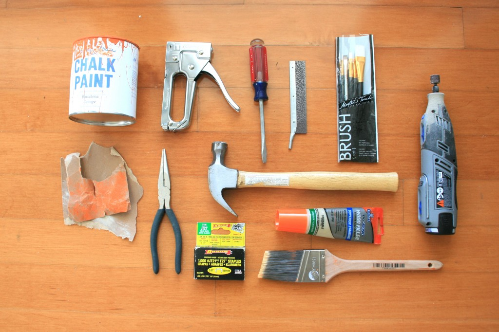 the tools you need for upholstery