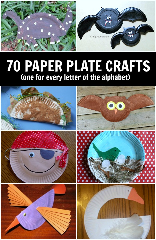 70 Paper plate crafts for kids!