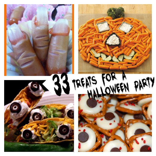 33 Halloween party food ideas