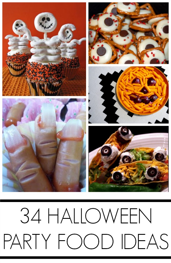 Halloween party foodHalloween party food ideas + lots of healthy options