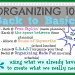 Organizing 101: 10 ways to organize your blog