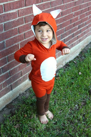 Homemade animal costumes craft homemade fox costume solutioingenieria Image collections