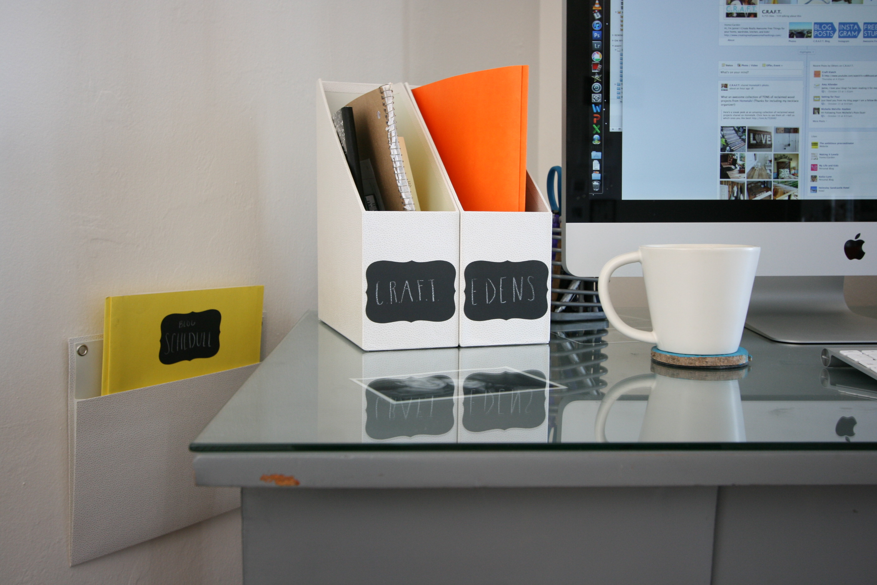 Home Office Nook Organization A 100 Giveaway Diy