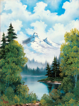 Рисуем горы. боб росс