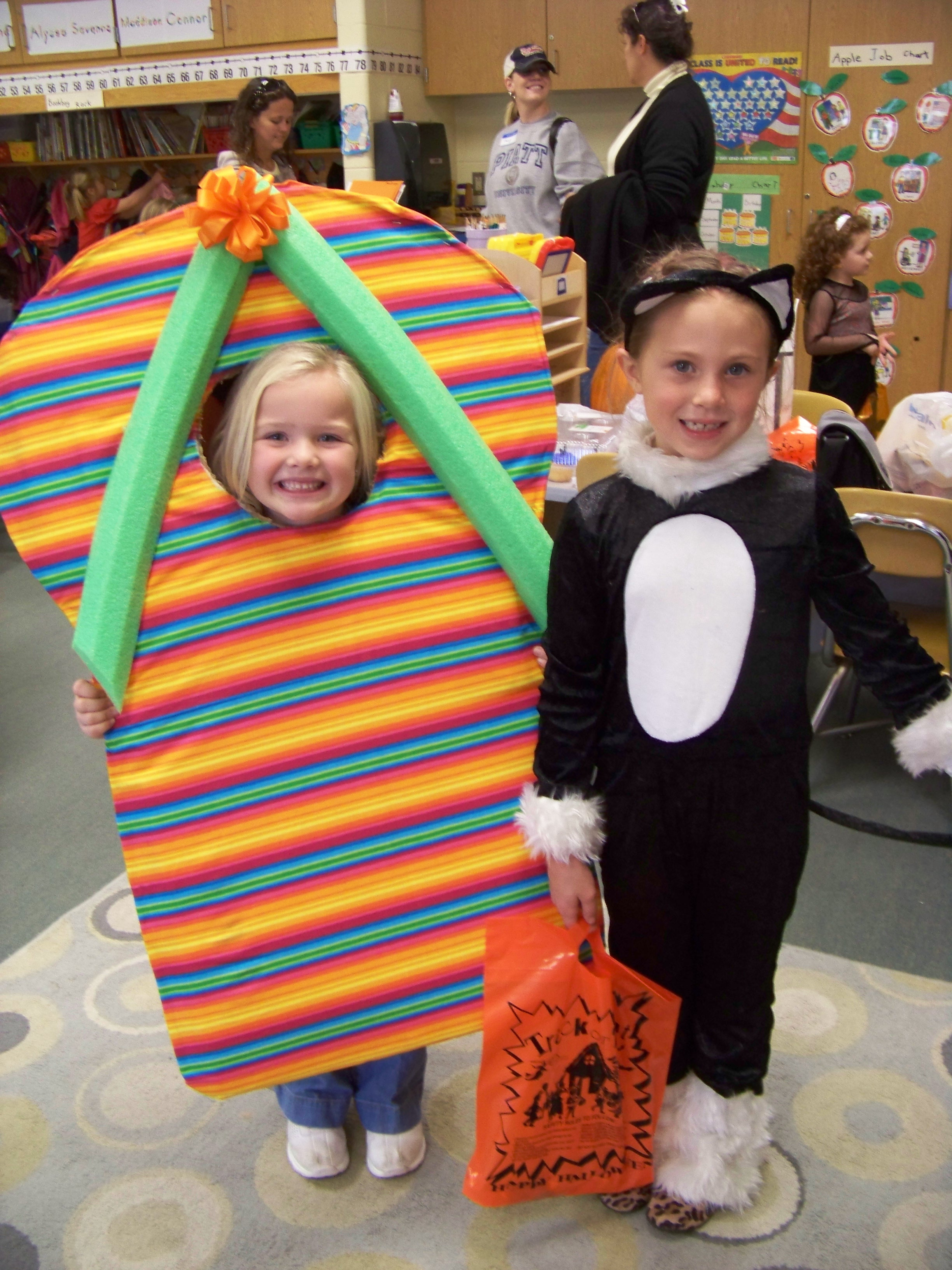 Flip flop costume {homemade costumes}