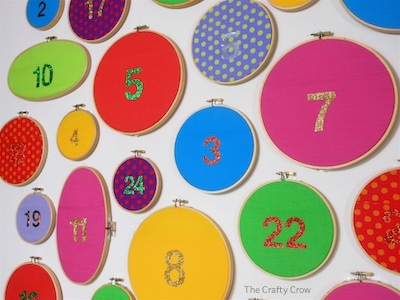 DIY Advent calendars for kids