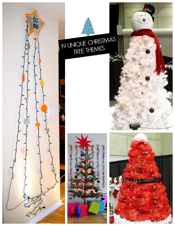 19 Creative Christmas tree theme ideas!