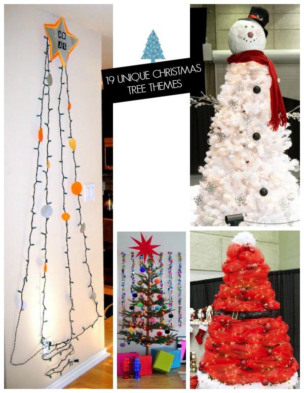19 Creative Christmas tree theme ideas!