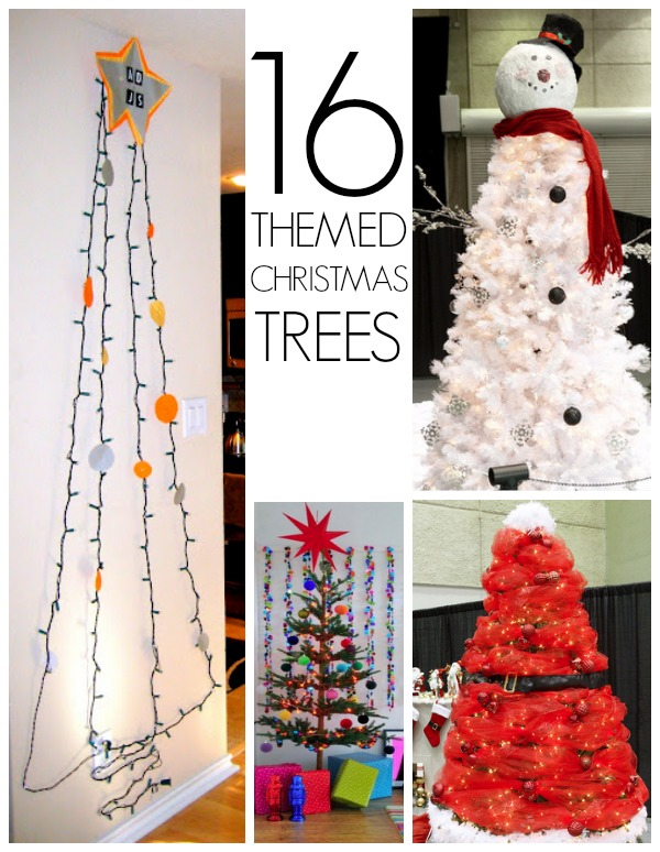 19 Christmas tree themes - C.R.A.F.T.
