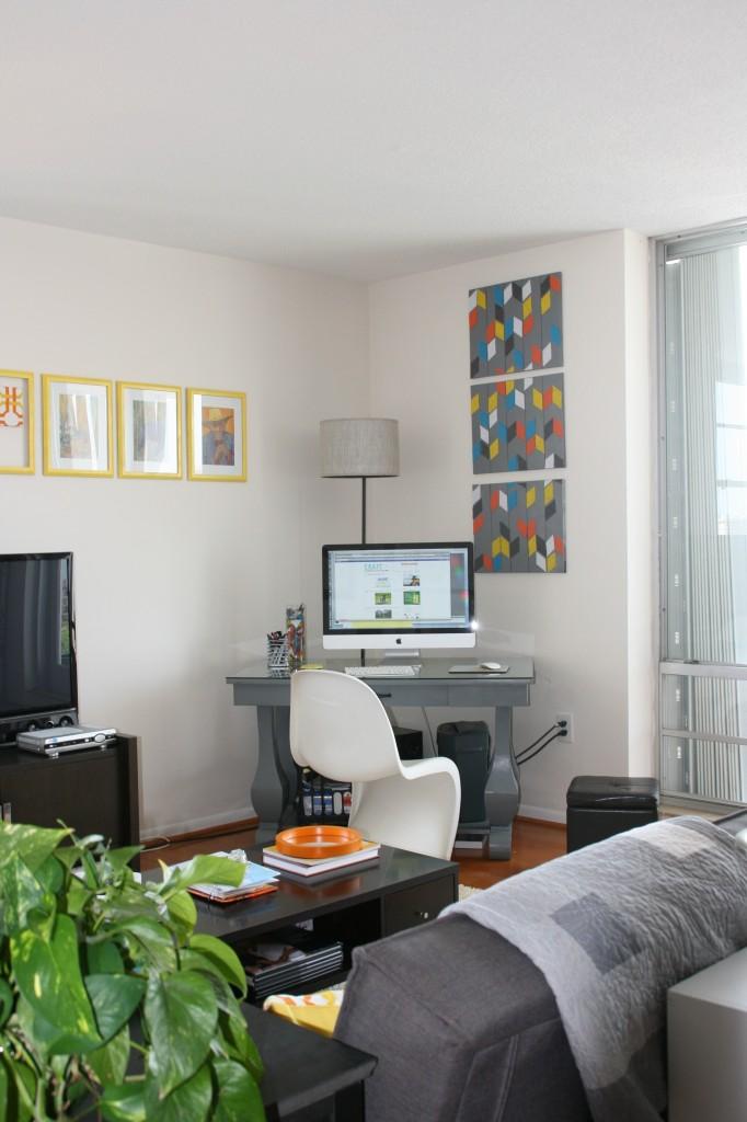 Organize an office nook