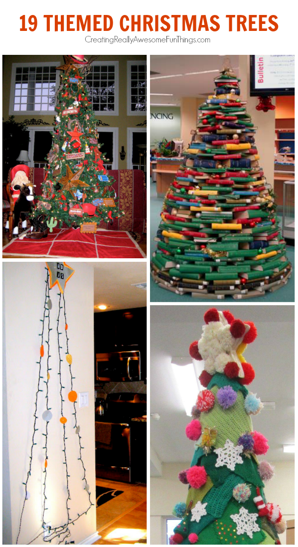 19 Christmas Tree Themes C R A F T  - Christmas Tree Themes Pictures
