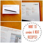 NeatReceipts Giveaway