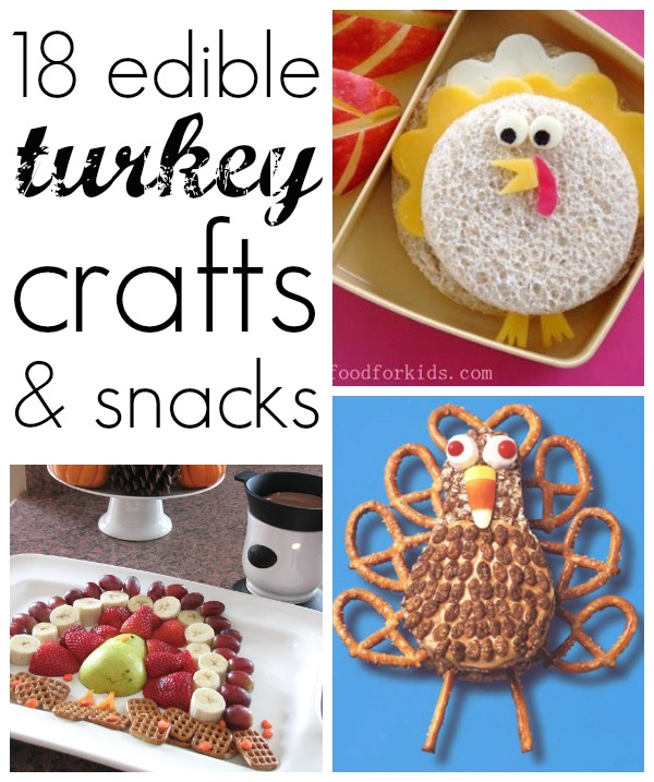 18 turkey snacks for kids