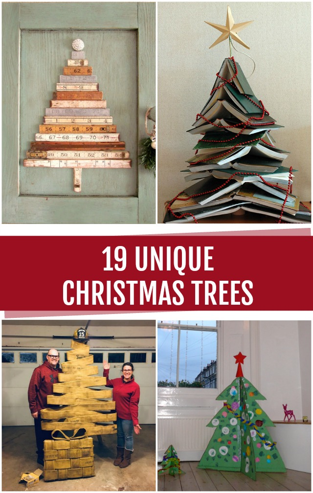 19 Unique Christmas Trees