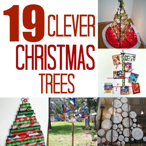 15 Non Traditional Christmas Tree Ideas: Unique Christmas Tree Ideas