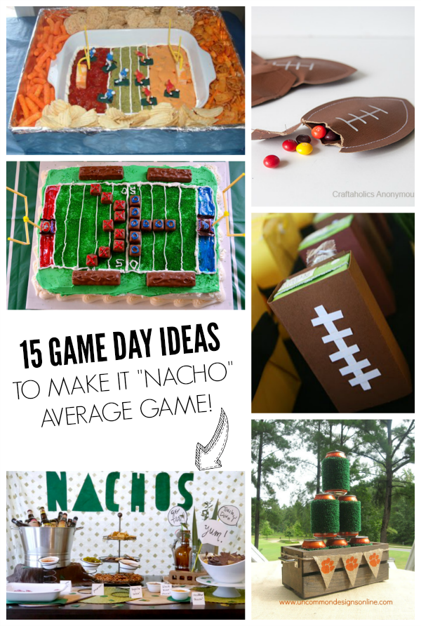 15 Game day party ideas!