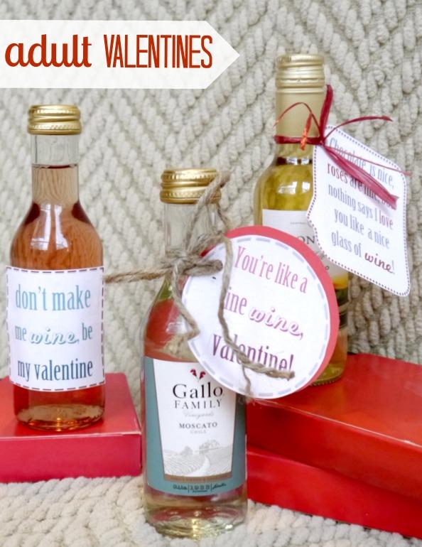 adult wine valentine