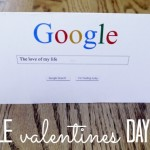 Google Valentine Card {+ free printable}