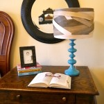 DIY Lamp shade {Contest Closed}
