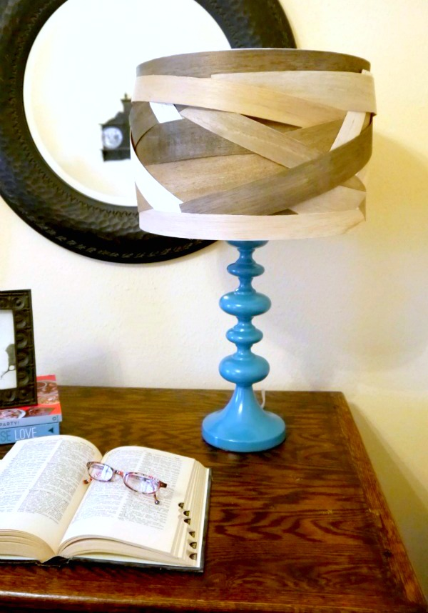 DIY Lamp shade {balsa wood} - C.R.A.F.T.