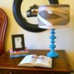 DIY Lamp shade {balsa wood}