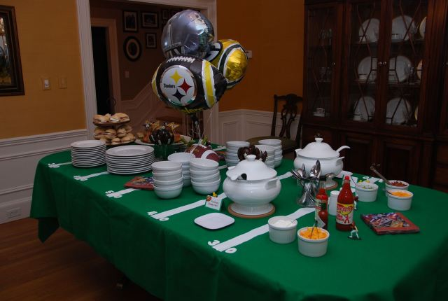 bowl game party ideas