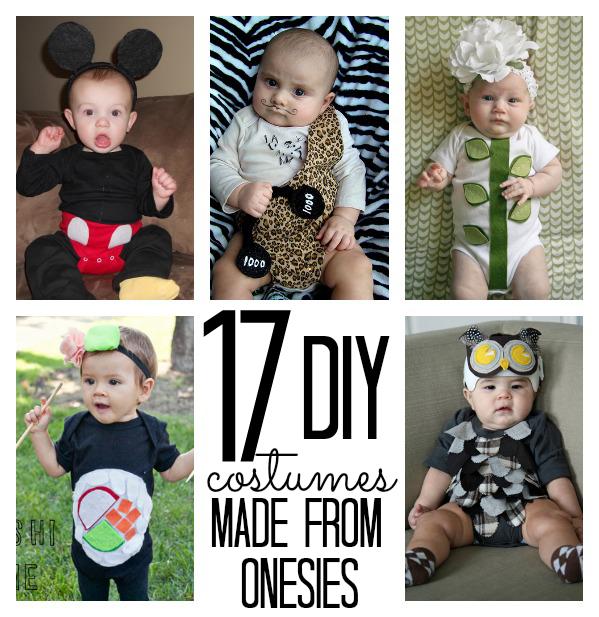 Handmade Halloween Costumes for babies using a onesie (via @ ...