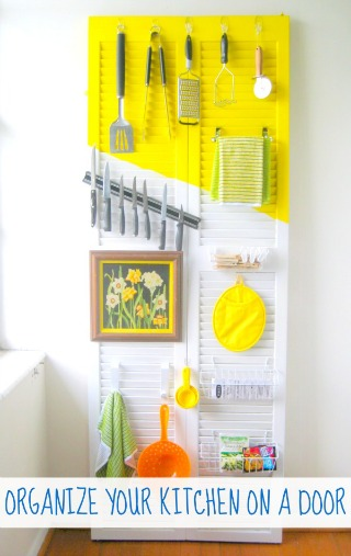 Kitchen organizer on a door CRAFT