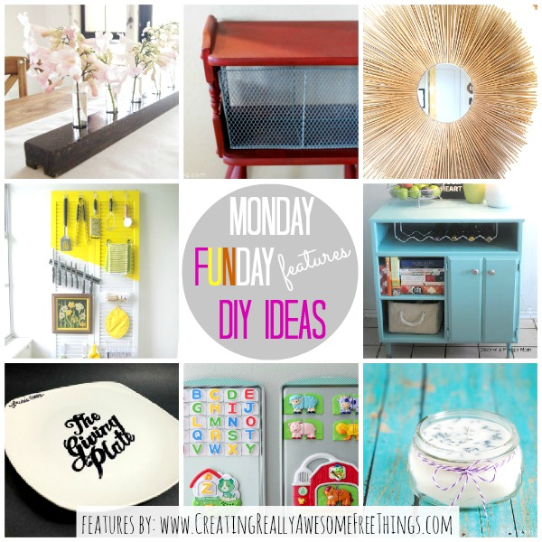 Monday Funday DIY Ideas CRAFT