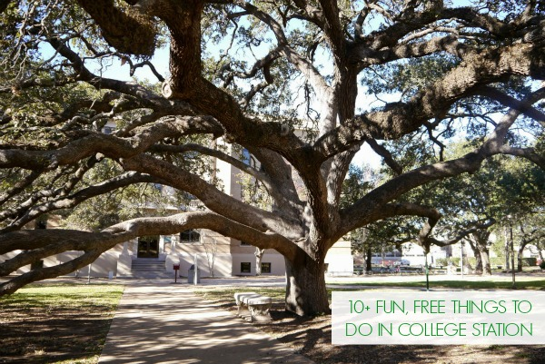 Fun, free things to do in College Station, TX!