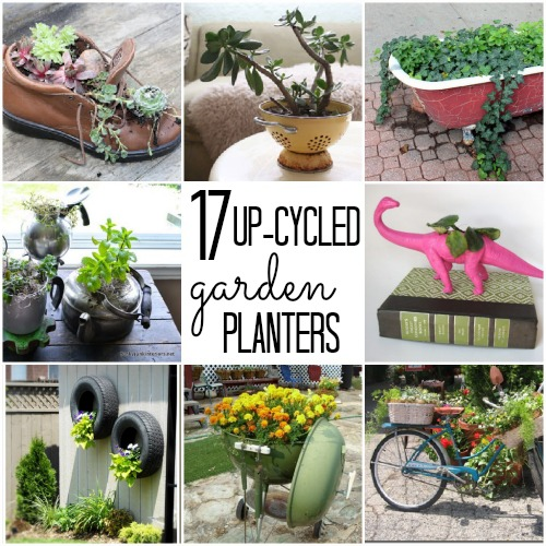 20 Ways To Spiff Up Your Backyard For Spring: Unique Flower Pots