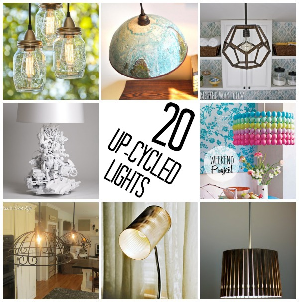 20 DIY Light Fixtures C R A F T