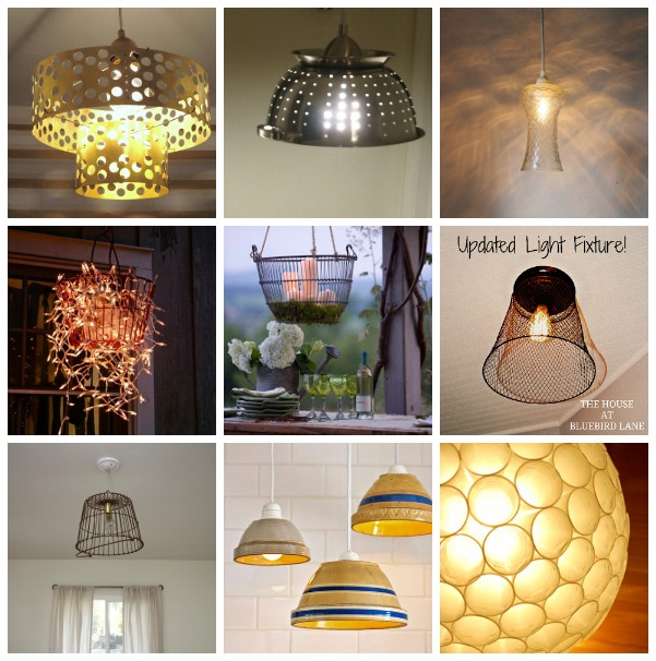 20 DIY Light Fixtures