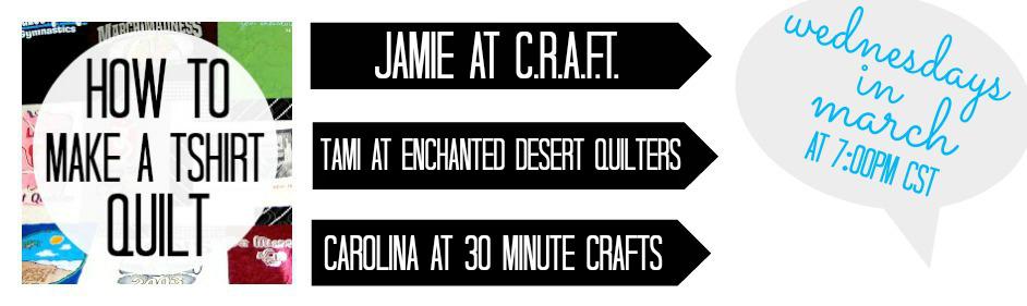 How to make a t-shirt Quilt Jamie Dorobek