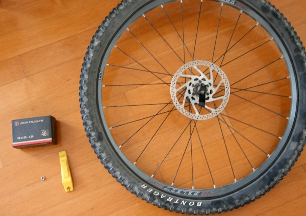 fix a flat bike tire